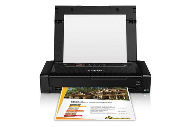 Epson Workforce WF-100 Portable Inkjet Printer