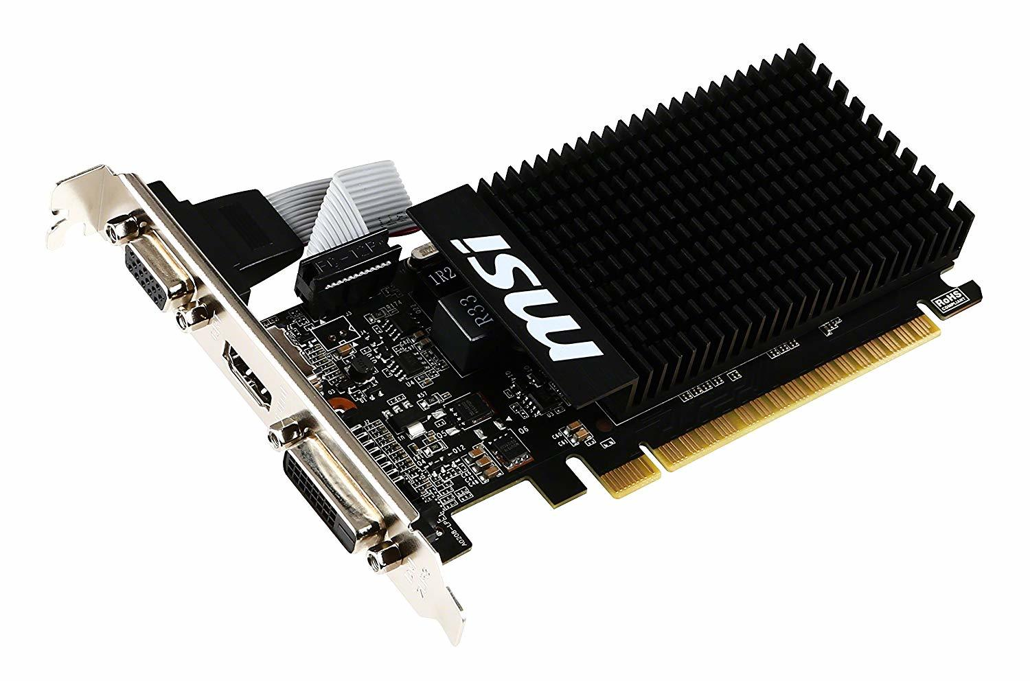 MSI GeForce GT 710 2GB Graphics Card image