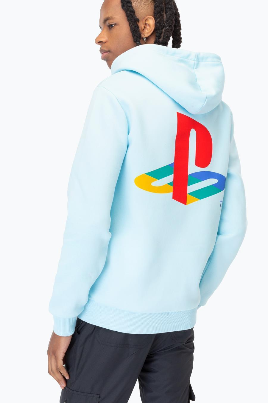 Just Hype: PlayStation Blue Crest Mens Pullover Hoodie - Small image