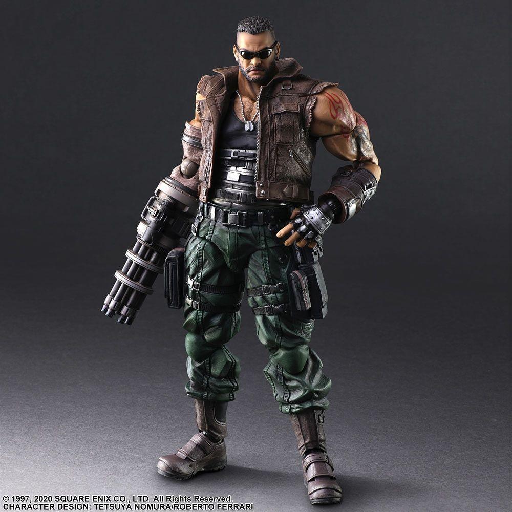 Final Fantasy VII Remake: Barret Wallace - Play Arts Kai Figure image