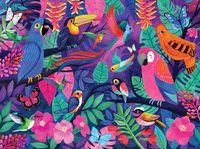 Crocodile Creek: 500-Piece Puzzle - Birds of Paradise image