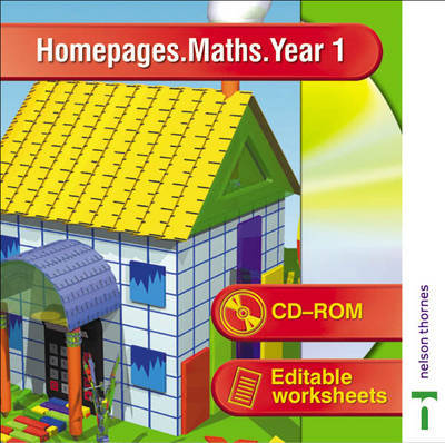 Homepages Maths: Year 1 by Jackie Cook image