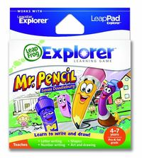 LeapPad / Leapster Explorer Learning Game: Mr. Pencil Saves Doodleburg