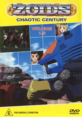 Zoids (Chaotic Century) Vol  1.5 on DVD