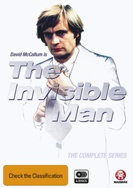 The Invisible Man - The Complete Series on DVD
