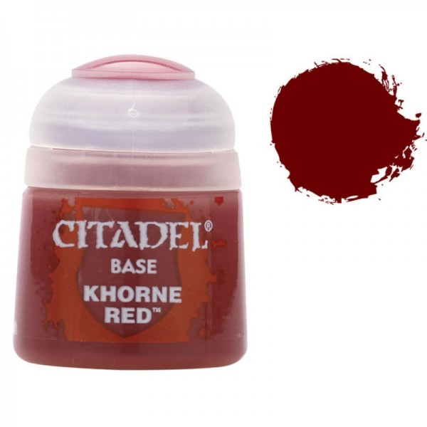 Citadel Base: Khorne Red image