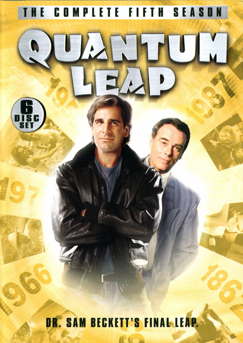Quantum Leap - Complete Season 5 (6 Disc Set) on DVD image