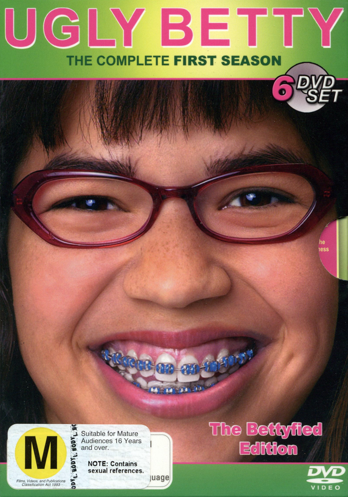 Ugly Betty - Complete Season 1 (6 Disc Box Set) on DVD image
