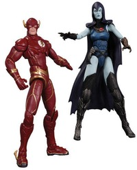 Injustice Gods Among Us: The Flash vs Raven Action Figure Set