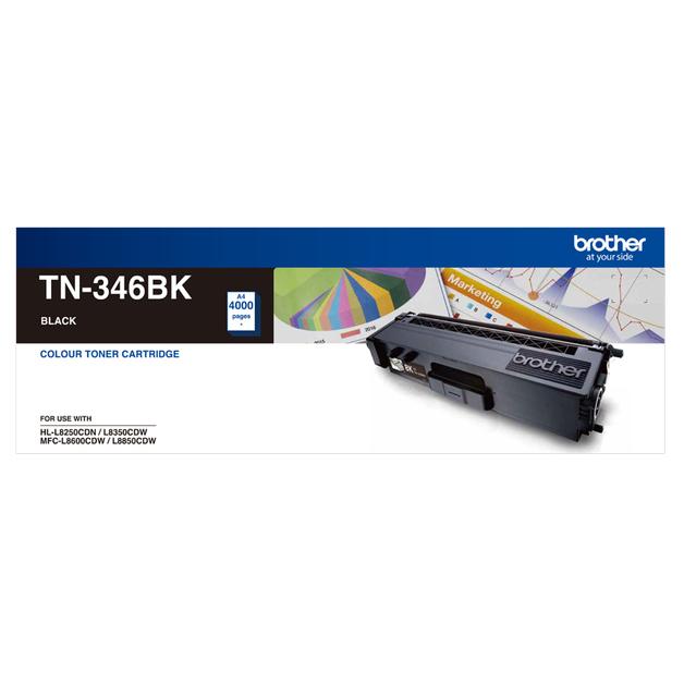 Brother TN-346BK High Yield Toner (Black)
