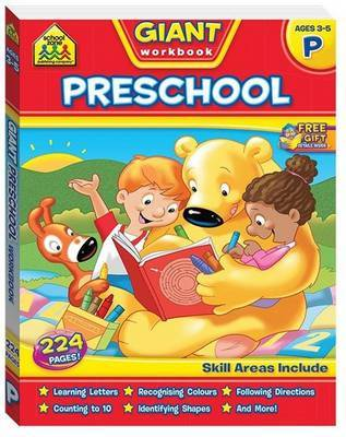 School Zone Giant Preschool Workbook
