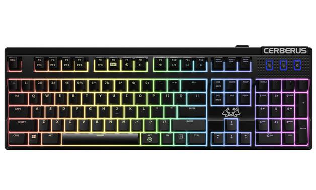 ASUS Cerberus Mechanical Gaming keyboard - Brown for