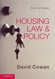 Law in Context by David Cowan