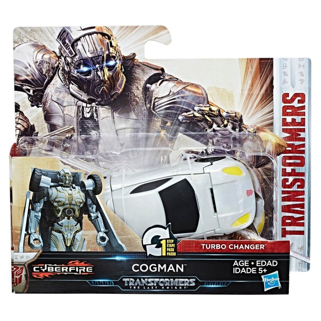 Transformers: The Last Knight: 1-Step Turbo Changer (Cogman)