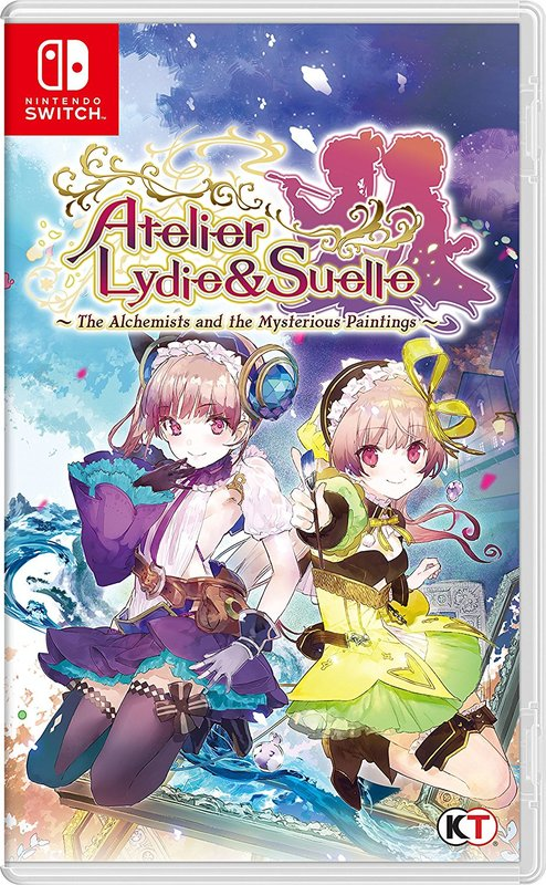 Atelier Lydie & Suelle: The Alchemists and the Mysterious Paintings for Switch