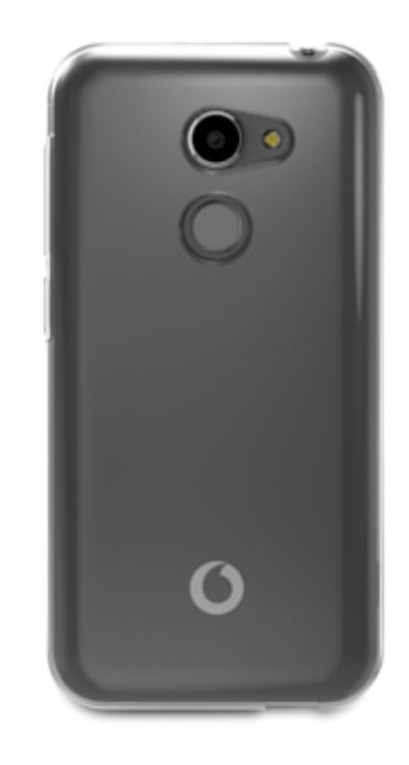 Vodafone Smart N8 Invisible Cover - Transparent