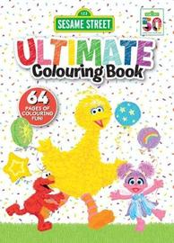 Sesame Street: Ultimate Colouring Book image