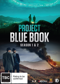 Project Blue Book: Seasons 1 & 2 on DVD image