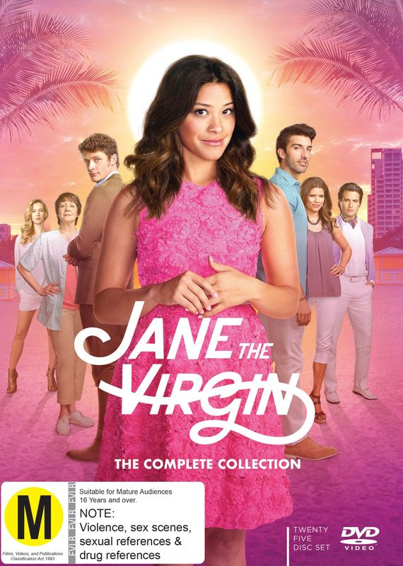 Jane The Virgin: The Complete Collection on DVD