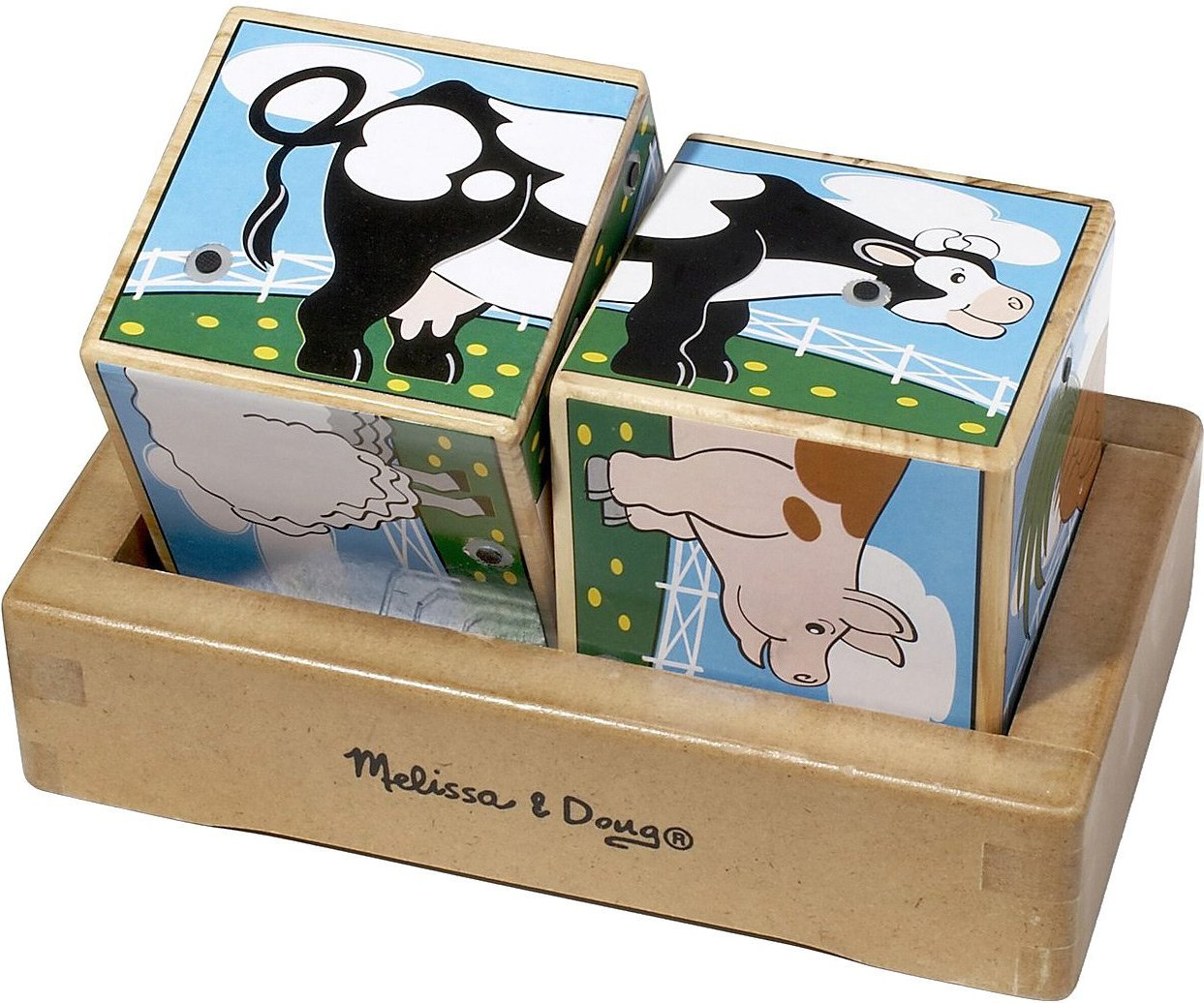 Melissa & Doug: Farm Sound Blocks image