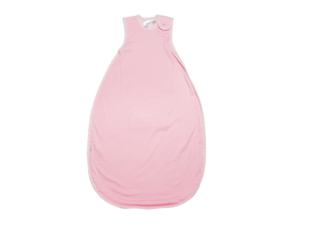 Babu Merino Sleeping Bag - Pink Heather 3-24m