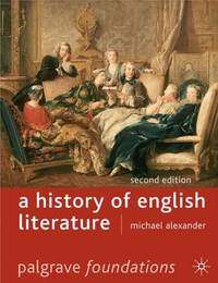 A History of English Literature by Michael Alexander image
