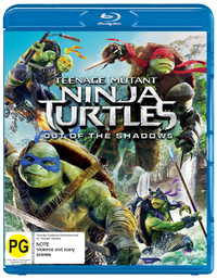 Teenage Mutant Ninja Turtles: Out of the Shadows on Blu-ray