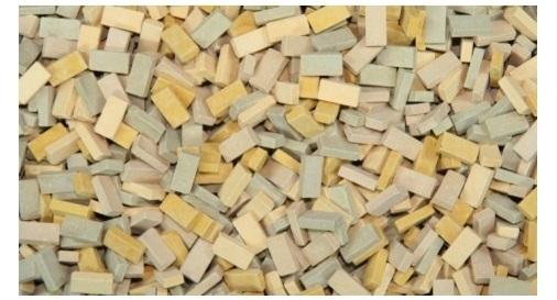 1:35 bricks (RF) beige mix (1,000 pcs.)