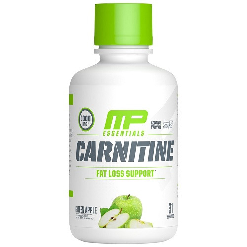 MusclePharm Carnitine Essentials Liquid - Green Apple (30 Serve)