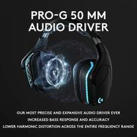 Logitech G935 Wireless 7.1 Surround Sound Lightsync Gaming Headset for PC