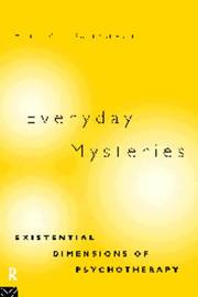 Everyday Mysteries: Existential Dimensions of Psychotherapy image