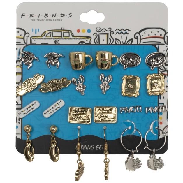 Friends: Earring Set (12 Pack)