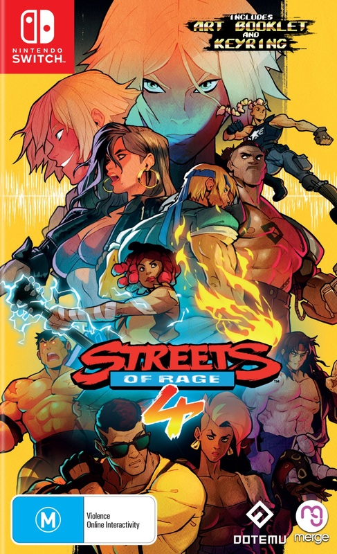 Streets of Rage 4 for Switch