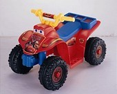 Disney Cars 6 Volt Mini Quad