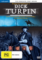 Dick Turpin - The Complete 1st Series (2 Disc Set) on DVD