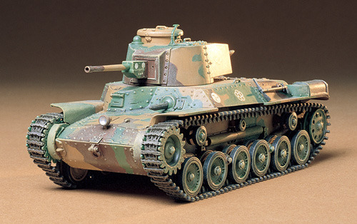 Tamiya Japanese Type 97 Medium Tank Late Ver. 1/35 Model Kit image