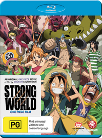 One Piece Movie: Strong World on Blu-ray