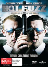 Hot Fuzz on DVD