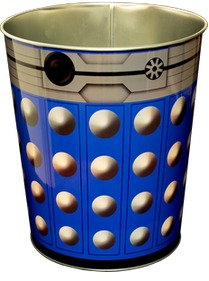 Doctor Who: Dalek Metal Bin