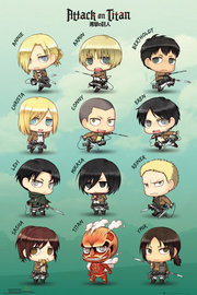 Attack On Titan: Maxi Poster - Chibi Characters (472)