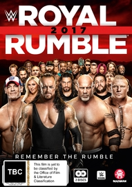 WWE: Royal Rumble 2017 DVD