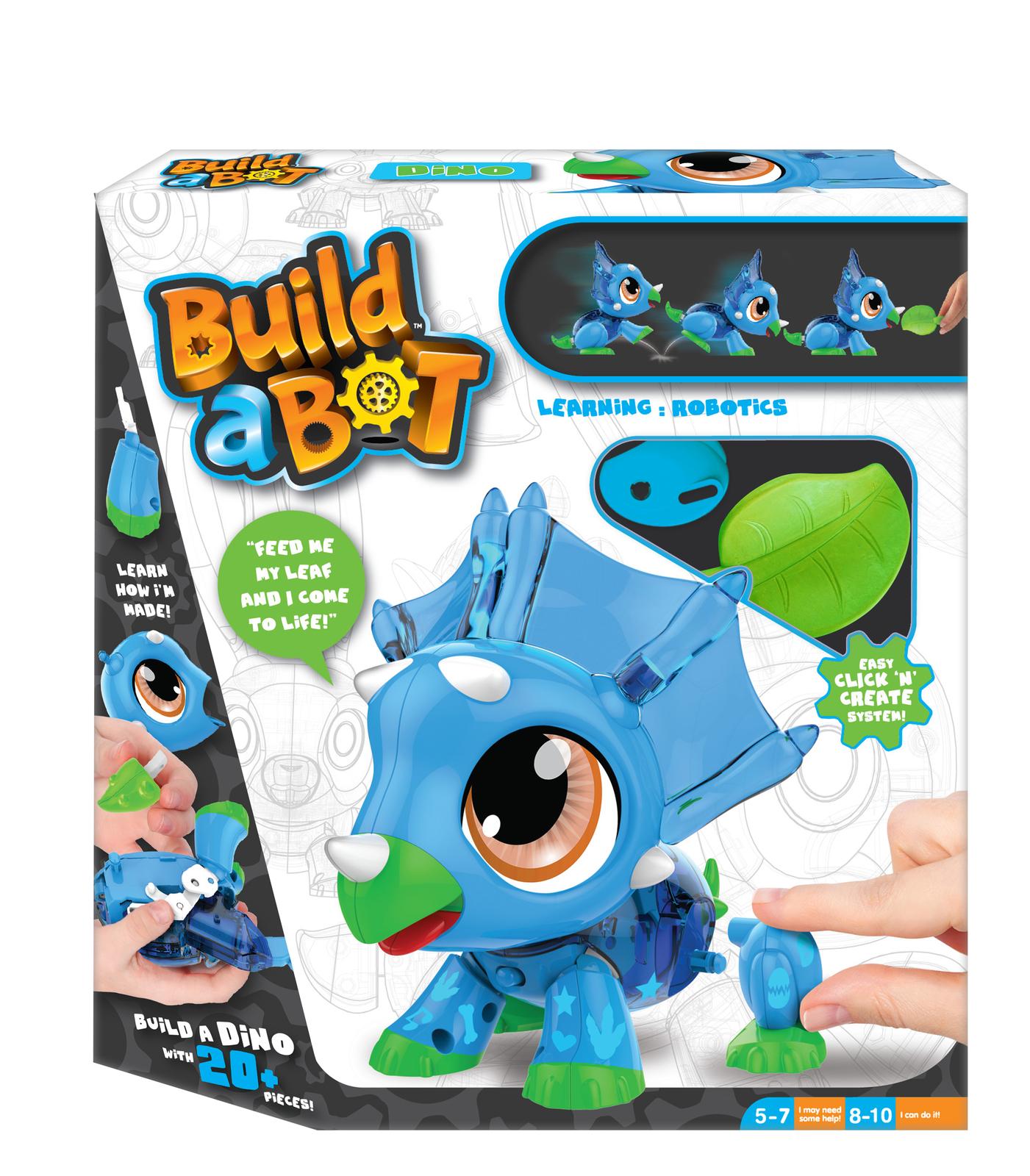 Build-a-bot: Robot Pet - Dino image