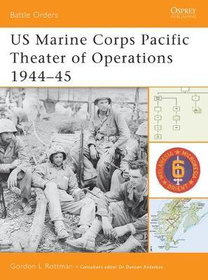 Us Marine Corps Pacific Theater of Operations (3) by Gordon L. Rottman image