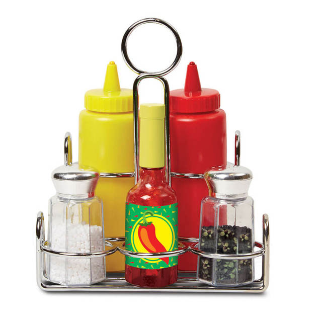 Melissa & Doug: Condiments - Playset