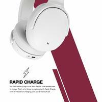 Skullcandy: Venue Noise Cancelling Headphones - Vice/Grey/Crimson