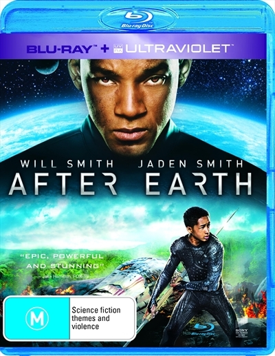 After Earth on Blu-ray