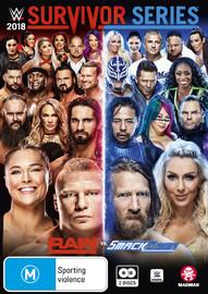 WWE: Survivor Series 2018 on DVD