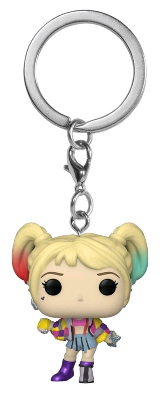 Harley Quinn: Caution Tape - Pocket Pop! Keychain