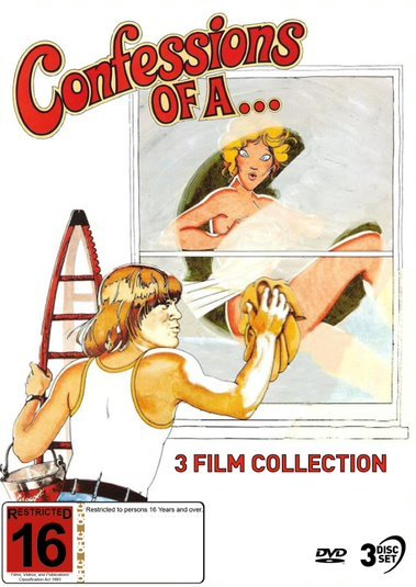 Confessions Of A... - 3 Film Collection on DVD