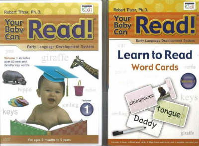 Your Baby Can Read: DVD and Word Card Blister Pack: v. 1 by Robert Titzer image
